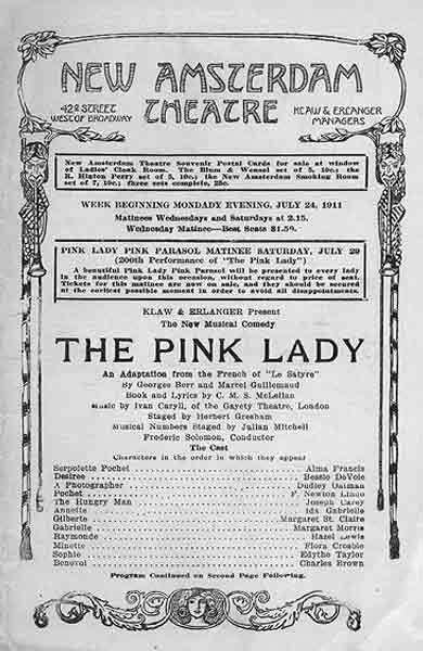Stage 1910s I: Princess Theatre Musicals
